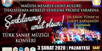 Gazimağusa'da Thalassaemia Merkezi yararına konser