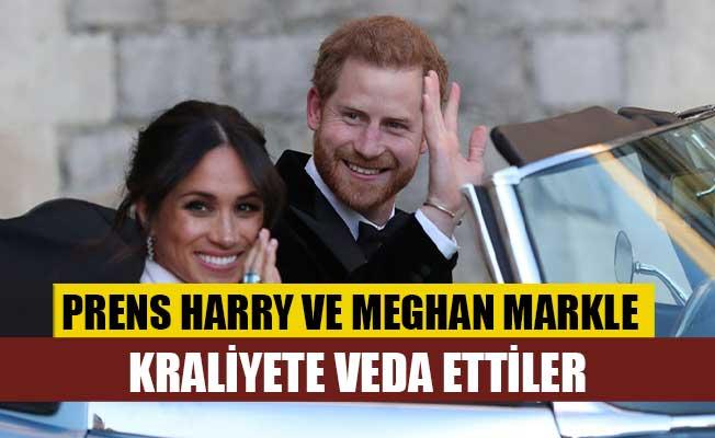 Prens Harry ve Meghan Markle veda etti