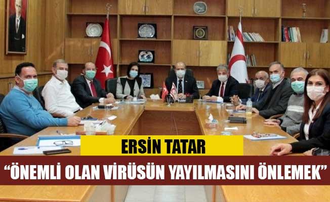 Başbakanlık Covid-19 koordinasyon konseyi toplandı