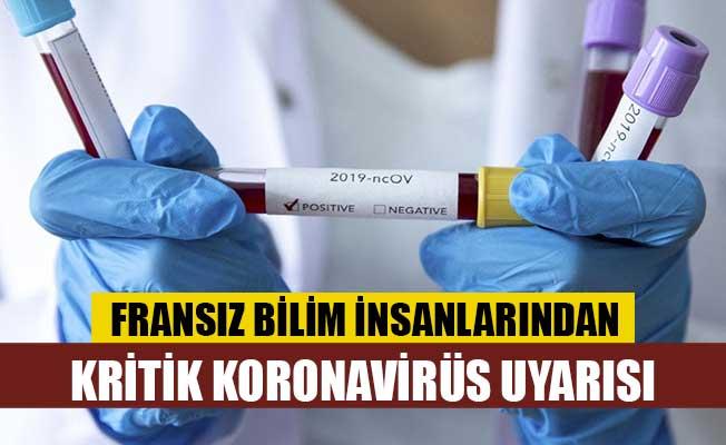 Fransız bilim insanlarından kritik koronavirüs uyarısı