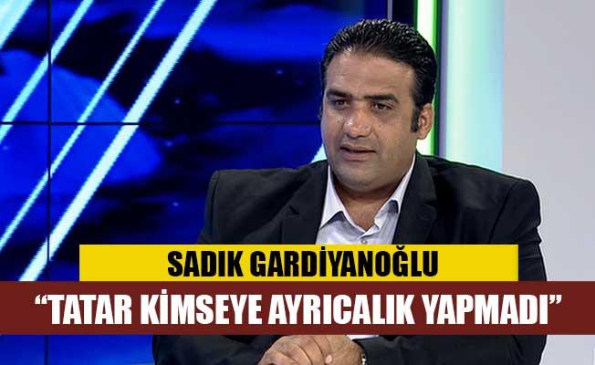 """Gardiyanoğlu: """"Bu ülkenin tüm gençleri Başbakan'ın evladıdır"""""""