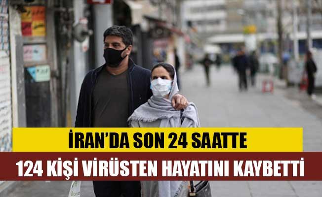 İran'da son 24 saatte 124 kişi koronavirüsten öldü