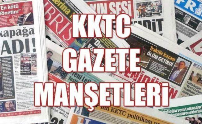KKTC Gazetelerinin Manşetleri – 7 Nisan 2020