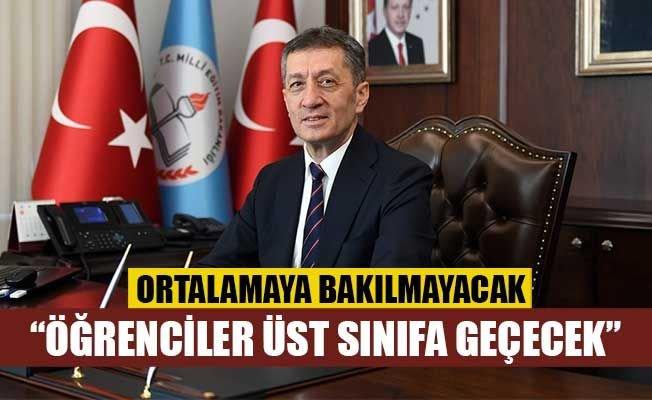 Türkiye Milli Eğitim Bakanı Ziya Selçuk açıkladı: Not ortalamasına bakılmayacak