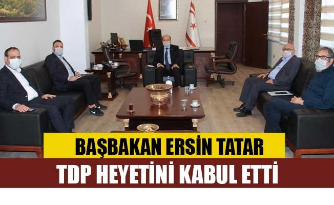 Tatar, TDP heyetini kabul etti