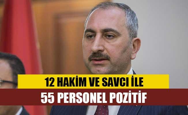 Türkiye Adalet Bakanı Gül: 12 hakim ve savcı ile 55 personelin testi pozitif çıktı