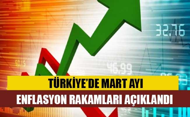 Türkiye'de Mart ayı enflasyon rakamları açıklandı