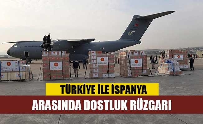 Türkiye ile İspanya arasında dostluk rüzgarı