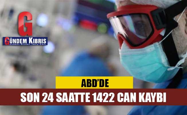 ABD'de 24 saatte 1422 can kaybı