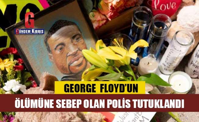 ABD'de siyahi Floyd'un ölümüne sebep olan polis tutuklandı