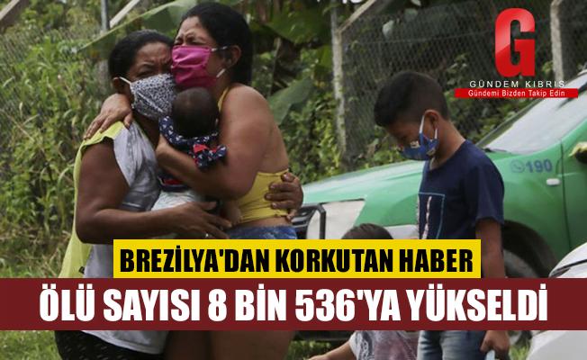 Brezilya'da Kovid-19'dan yüzlerce yeni ölüm daha açıklandı