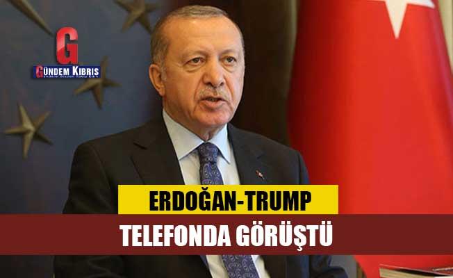 Erdoğan, ABD Başkanı ile telefonda görüştü