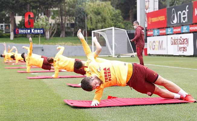 Galatasaray'da hazırlıklar kaldığı yerden devam