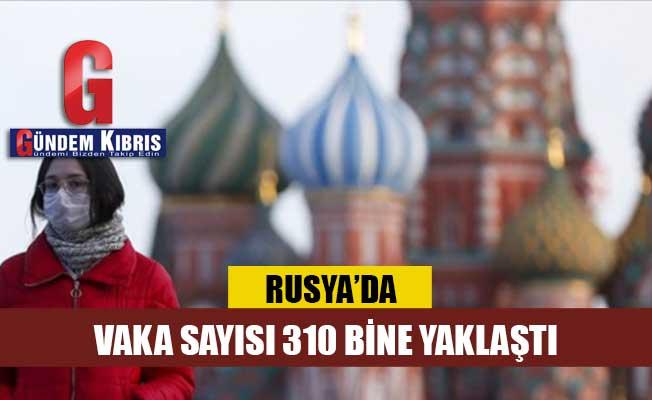 Rusya'da COVID-19 vaka sayısı 310 bine yaklaştı
