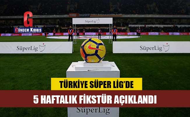 Süper Lig Cemil Usta Sezonu 27, 28, 29, 30 ve 31. hafta müsabaka programları açıklandı!