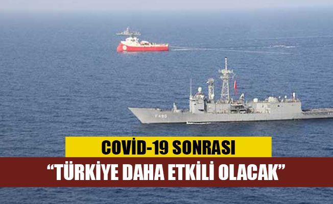 Uzmanlar Türkiye'nin Kovid-19'dan sonra Doğu Akdeniz'de daha etkili aktör olacağı görüşünde