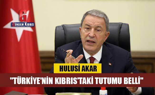 """Akar: """"Kıbrıs'ta oldubittinin söz konusu olmadığını, herkes aklında tutmalı"""""""