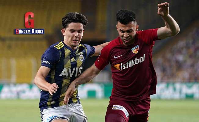 Fenerbahçe – Kayserispor maç sonucu: 2-1