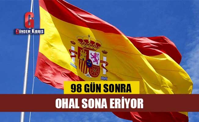 İspanya'da 98 günlük OHAL bu gece yarısı sona eriyor