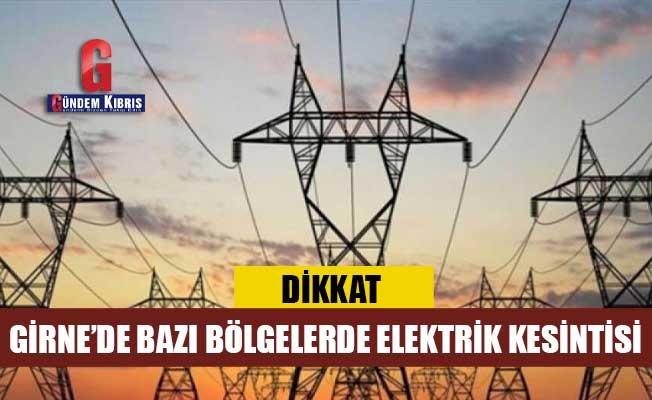 5 saat elektrik verilmeyecek