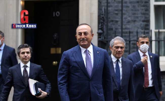 Çavuşoğlu: Libya konusunda İngiltere ile Türkiye arasında görüş ayrılığı yok