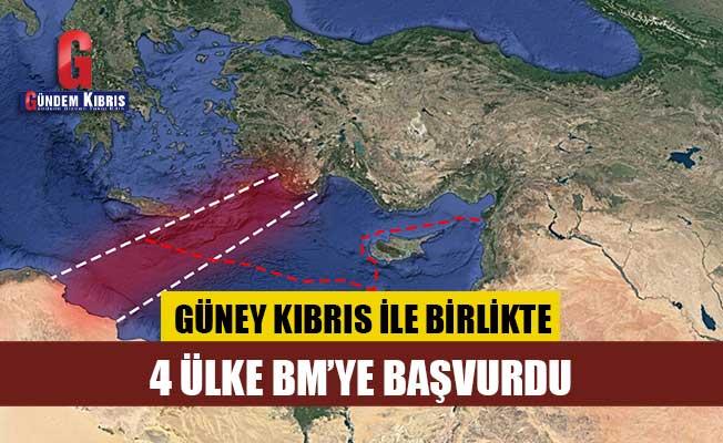 Güney Kıbrıs ve 4 ülke, BM'ye başvurdu