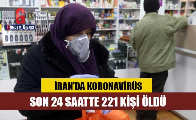 İran'da bir günde 221 ölüm