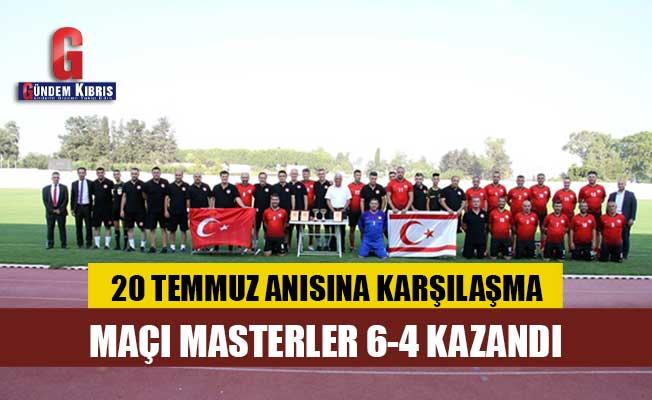 Meclis Futbol Takımı, KKTC Masterler ile karşılaştı