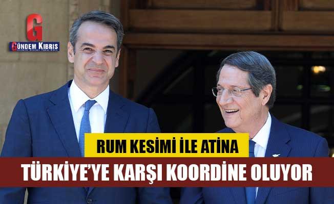 Rum Basını : Rum Kesimi ile Atina, Türkiye'ye karşı koordine oluyor