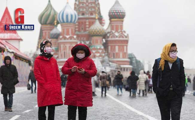 Rusya'da COVİD-19 vakası sayısı 720 bini geçti