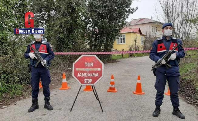 Şanlıurfa'da 105 ev karantinaya alındı