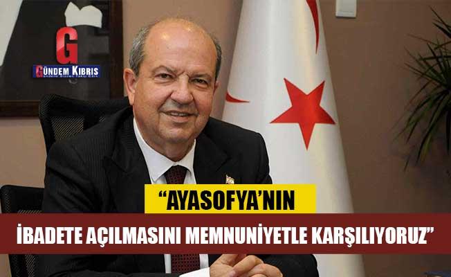 Tatar: Ayasofya'nın ibadete açılmasını memnuniyetle karşılıyoruz
