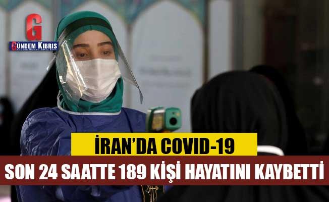 İran'da son 24 saatte 189 kişi koronavirüsten öldü