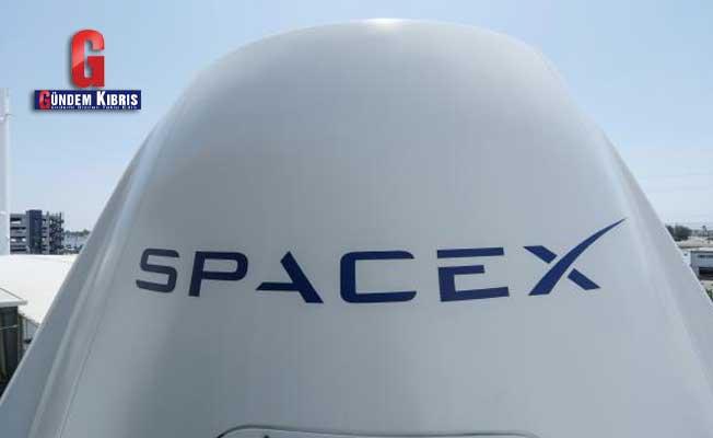 7 tonluk uydu SpaceX roketiyle uzayda