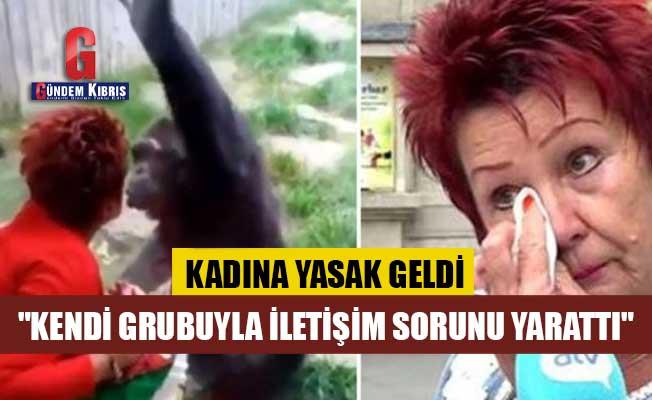 Hayvanat bahçesi 4 yıldır aynı şempanzeyi ziyaret eden kadına yasak getirdi