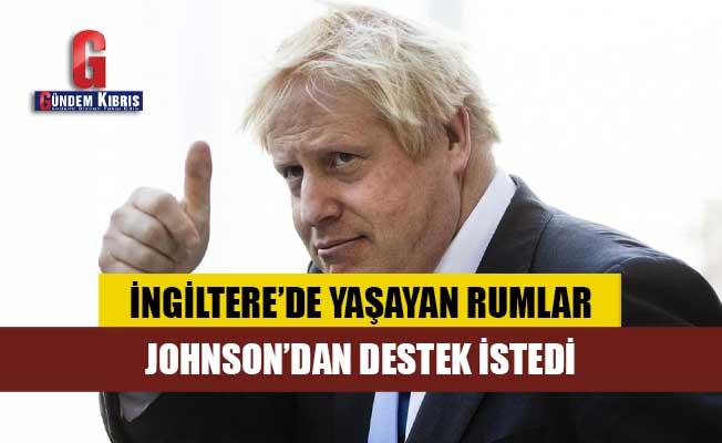 İngiltere'de yaşayan Rumlar Johnson'dan destek istedi