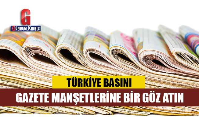 Türkiye Gazetelerinin Manşetleri / 23 Ağustos 2021