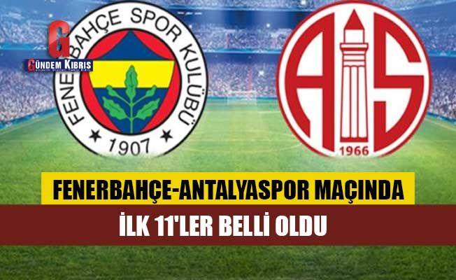 """Vitor Pereira, """"Canavar""""ı sahaya sürdü! Fenerbahçe-Antalyaspor maçında ilk 11'ler belli oldu"""